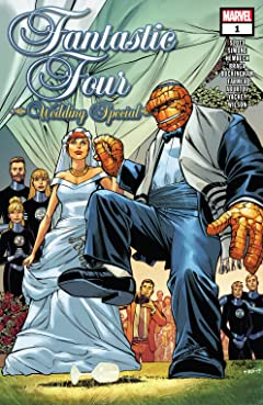 Image result for fantastic four Wedding annal