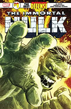 Immortal Hulk: The Best Defense (2018) #1 (of 1)