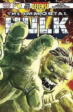 Immortal Hulk: The Best Defense (2018) No.1 (sur 1)