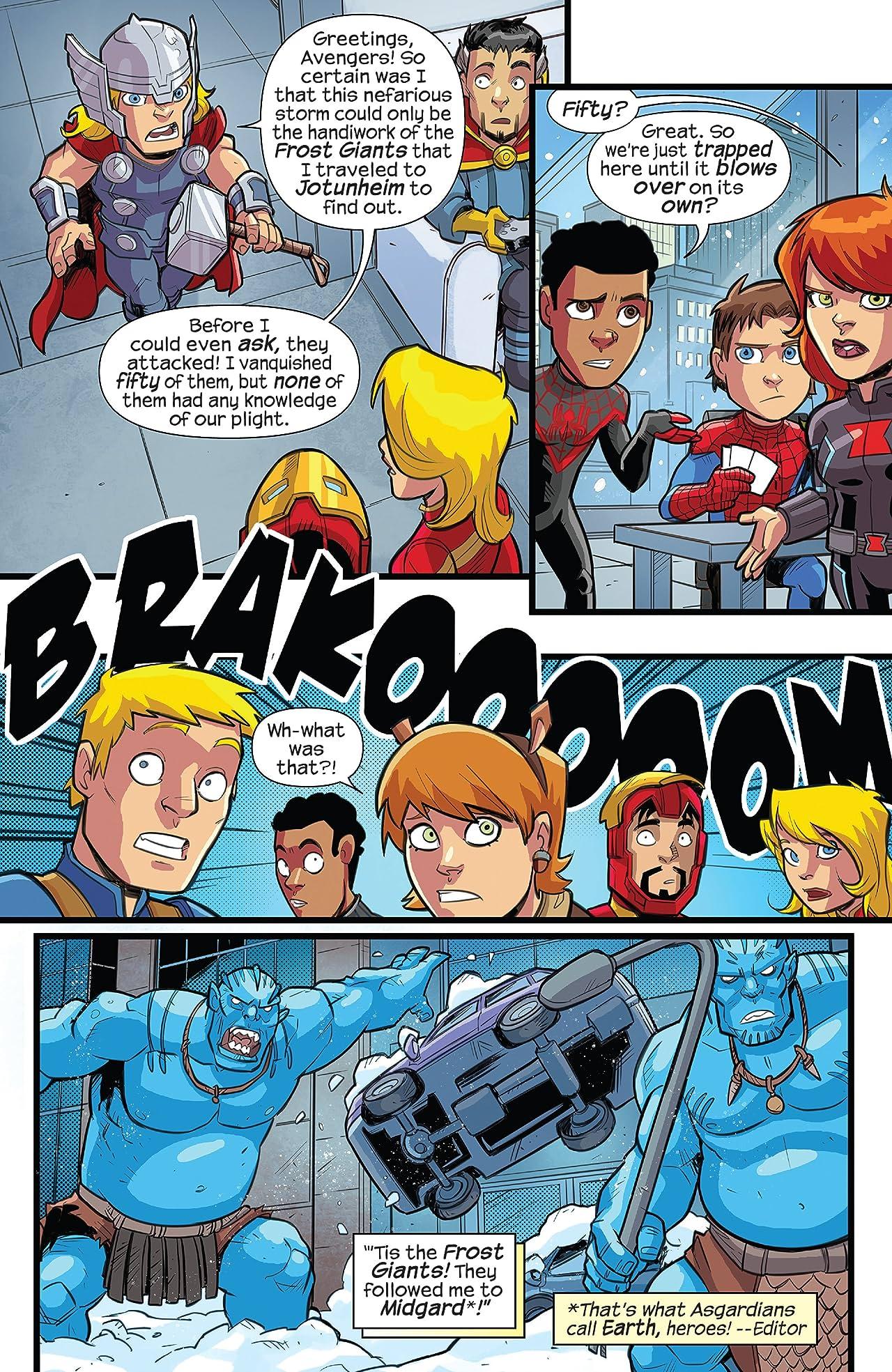 Marvel Super Hero Adventures: Captain Marvel – Frost Giants Among Us! (2018) #1
