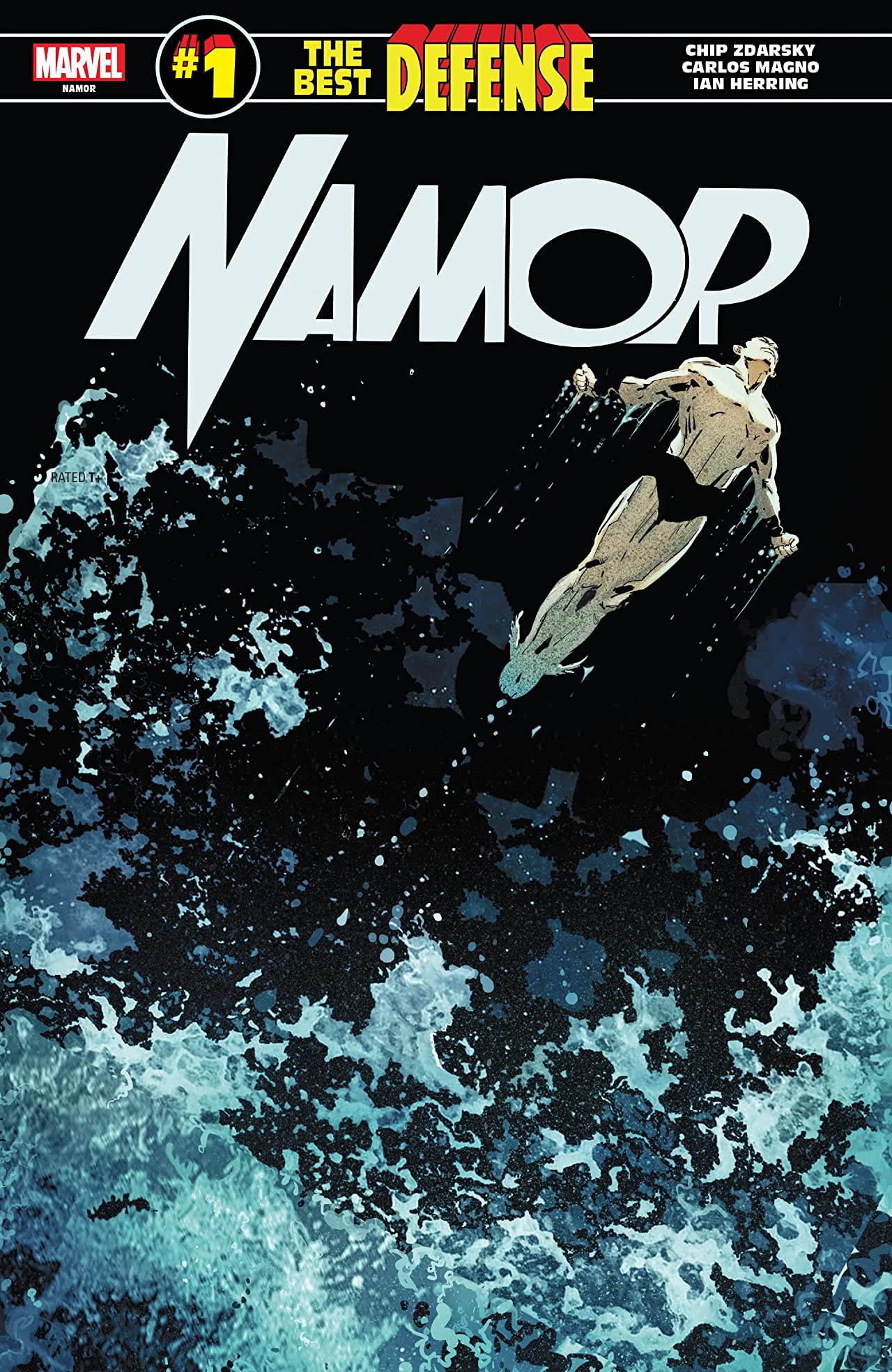 Namor: The Best Defense (2018) #1