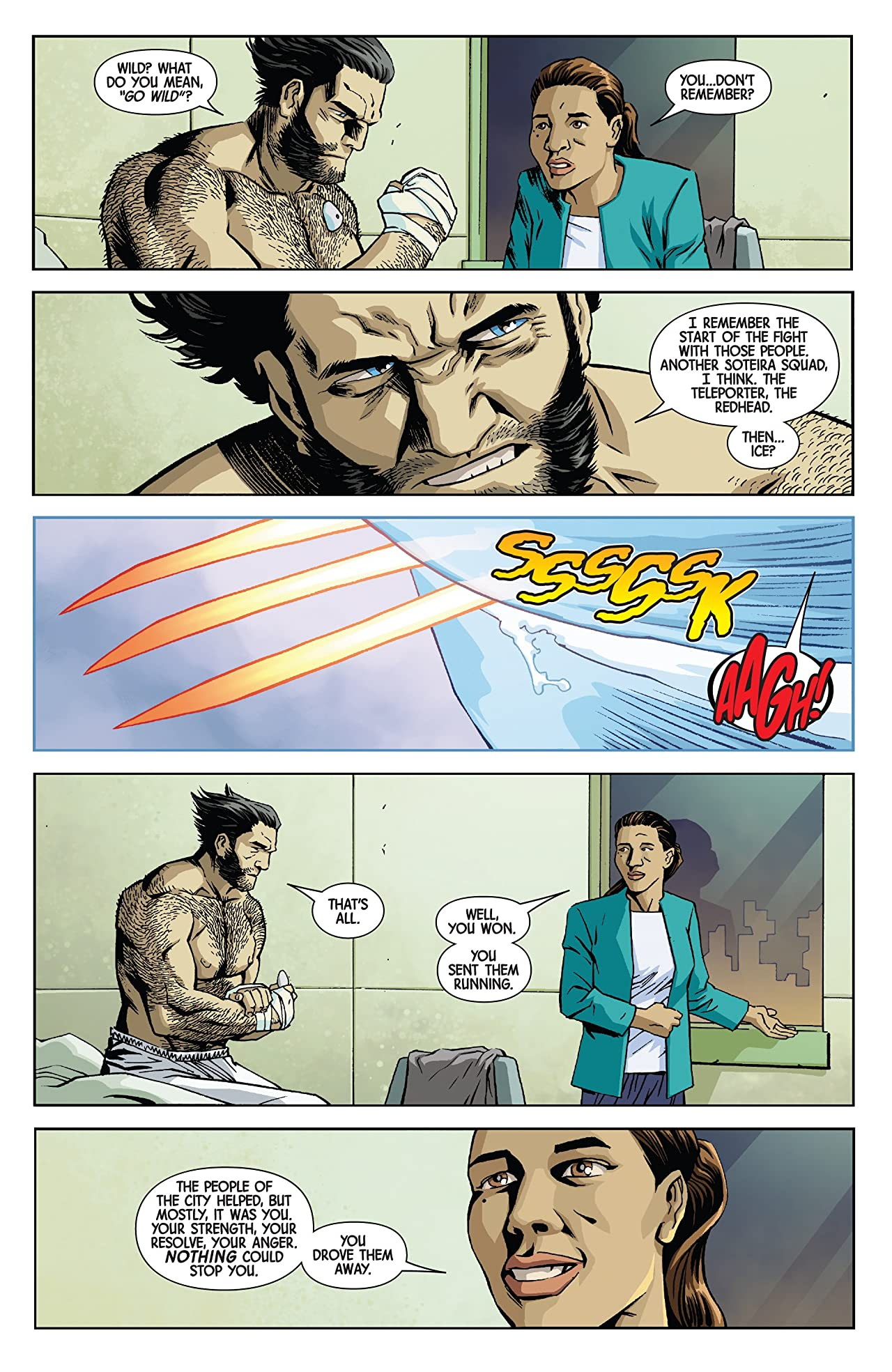 Return Of Wolverine (2018-2019) #4 (of 5)