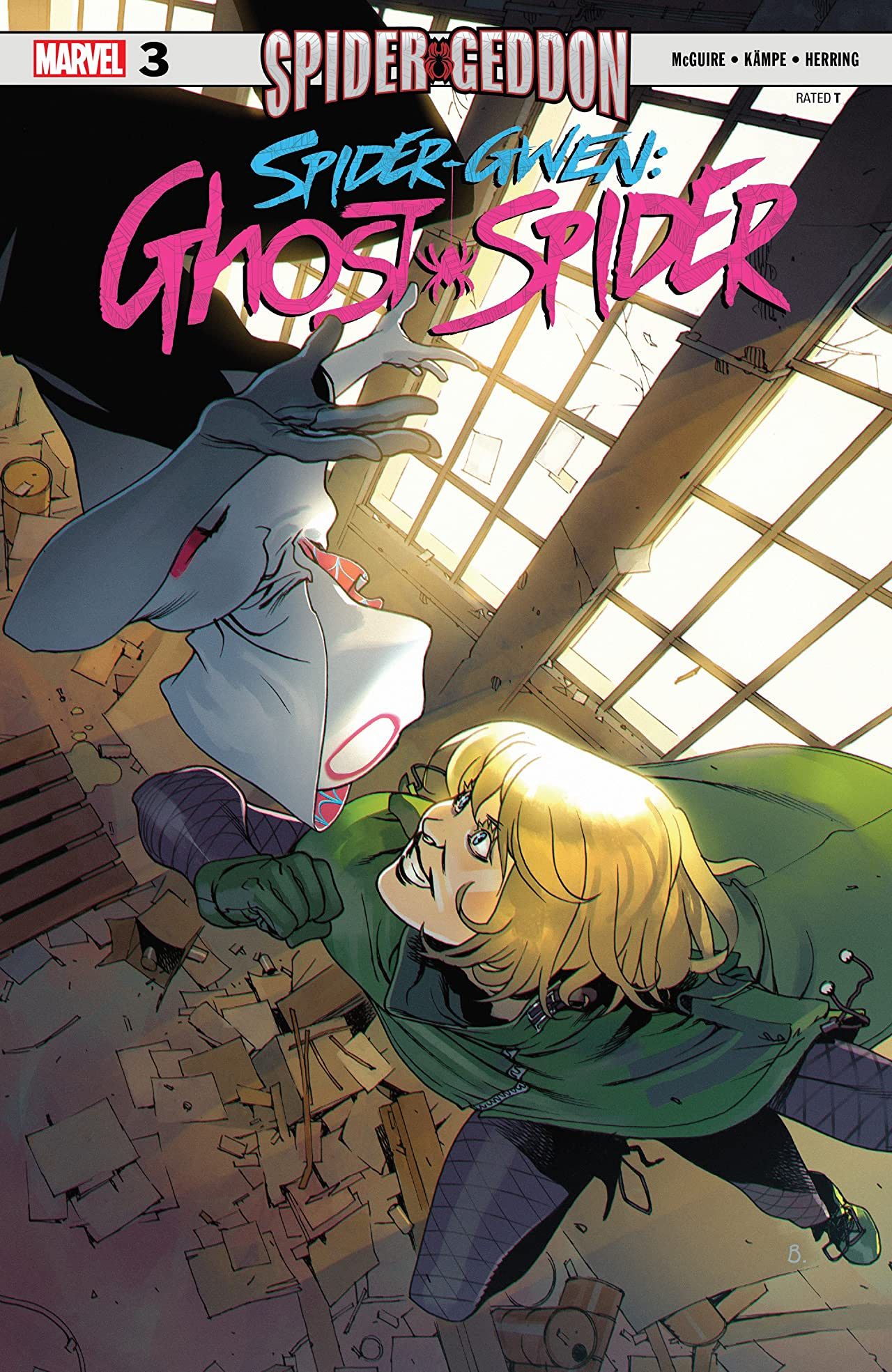 Spider-Gwen: Ghost-Spider (2018-) No.3