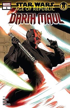 Star Wars: Age Of The Republic - Darth Maul (2018) #1