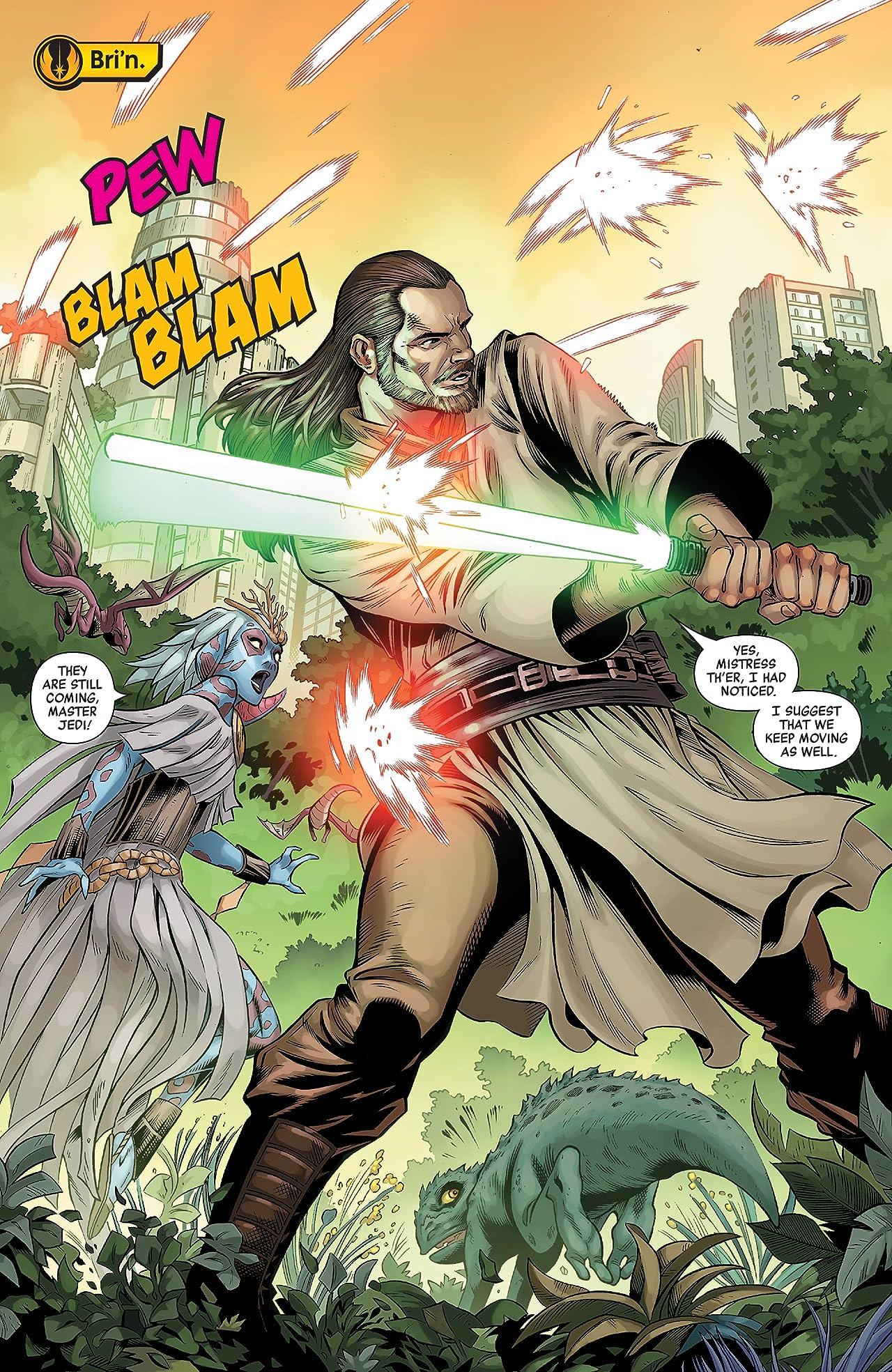 Star Wars: Age Of Republic - Qui-Gon Jin (2018) #1