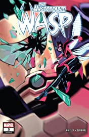The Unstoppable Wasp (2018-) #3