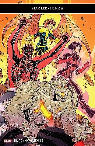 Uncanny X-Men (2018-2019) No.7