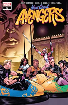 West Coast Avengers (2018-) #5
