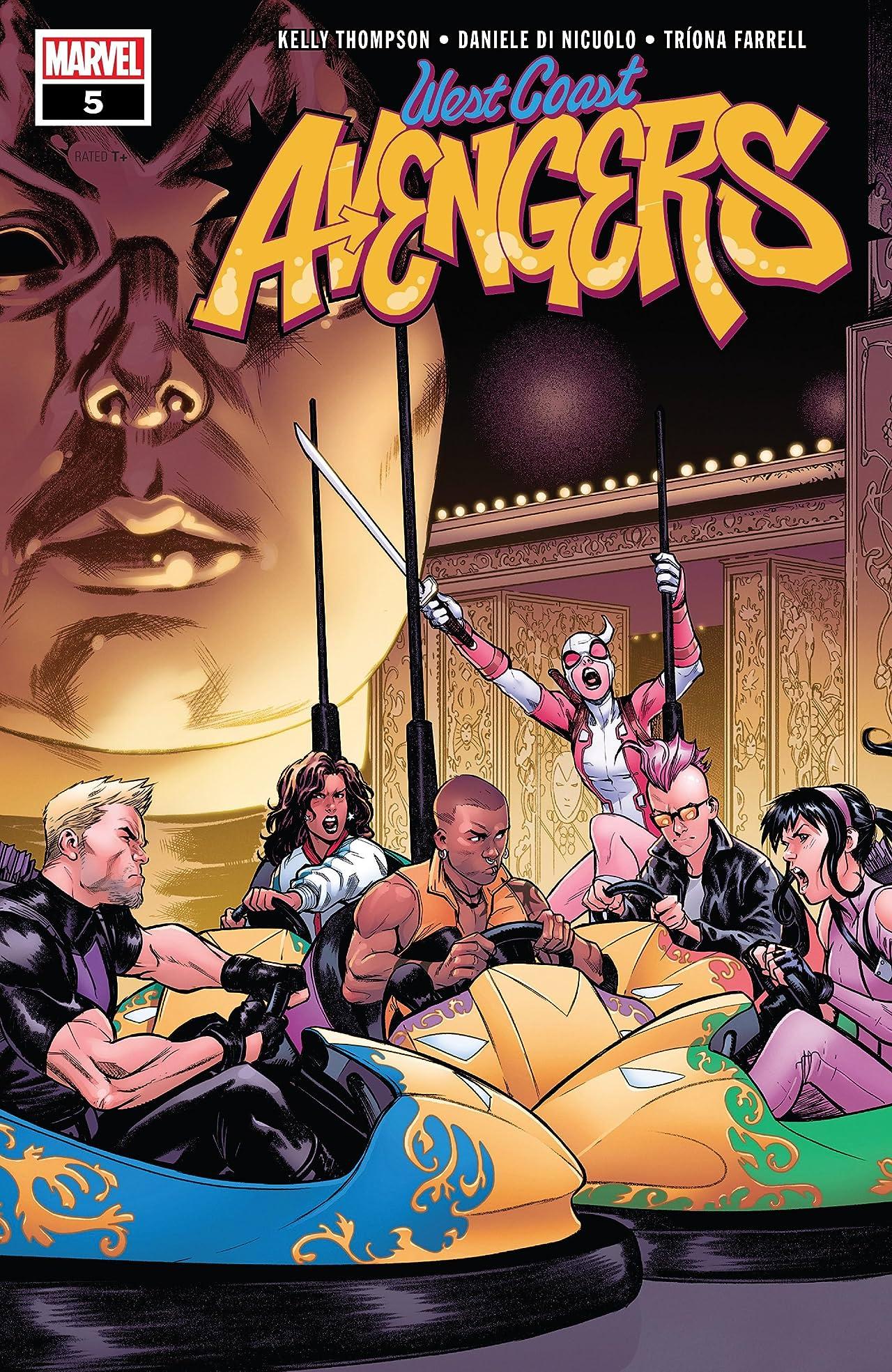 West Coast Avengers (2018-) No.5