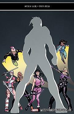 West Coast Avengers (2018-2019) #6
