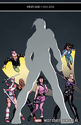 West Coast Avengers (2018-) No.6