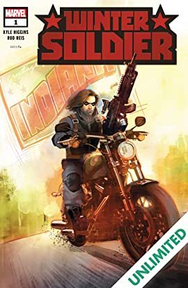 WINTER SOLDIER #1 OF 5 DEC 2018 BUCKY BARNES CAPTAIN AMERICA COMIC BOOK NEW