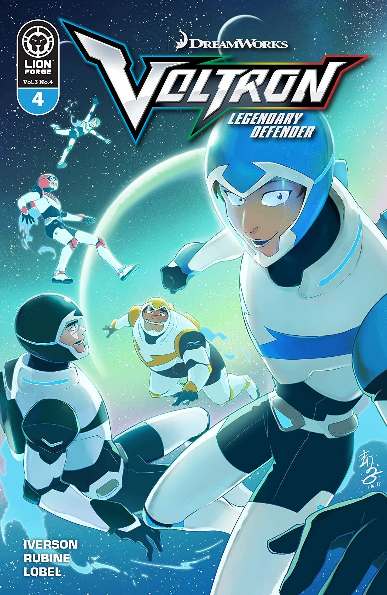 Voltron Legendary Defender Vol. 3 #4