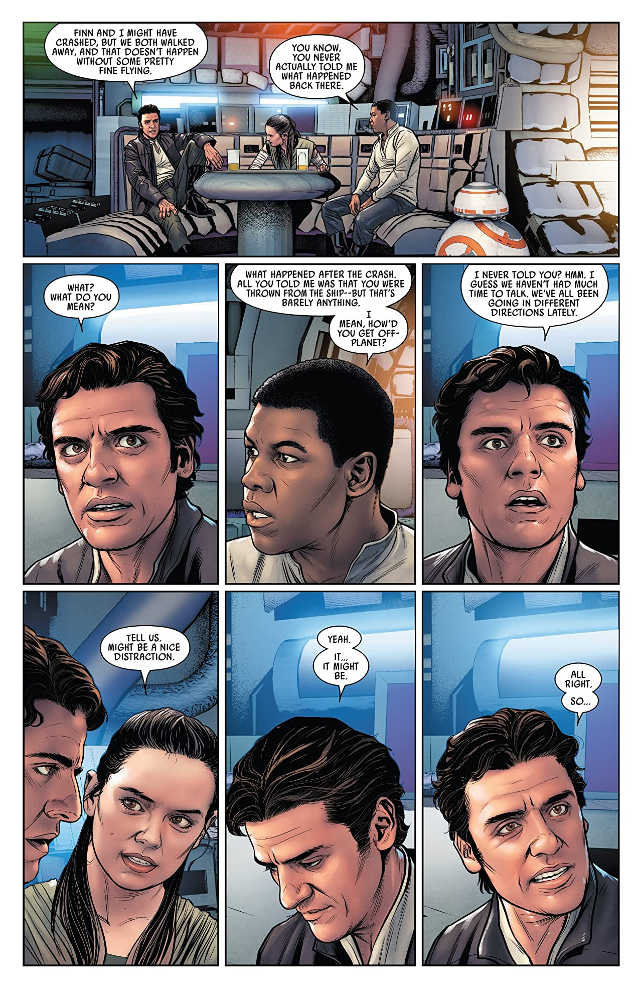 Star Wars: Poe Dameron Vol. 5: The Spark And The Fire