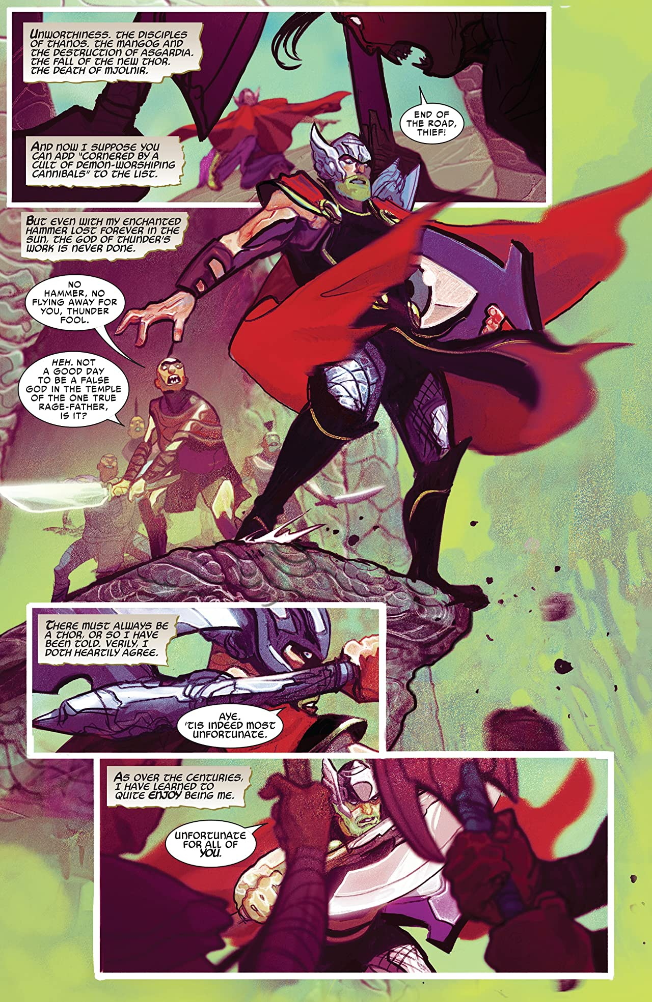 Thor Vol. 1: God Of Thunder Reborn