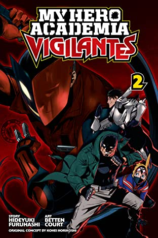 My Hero Academia: Vigilantes Vol. 2