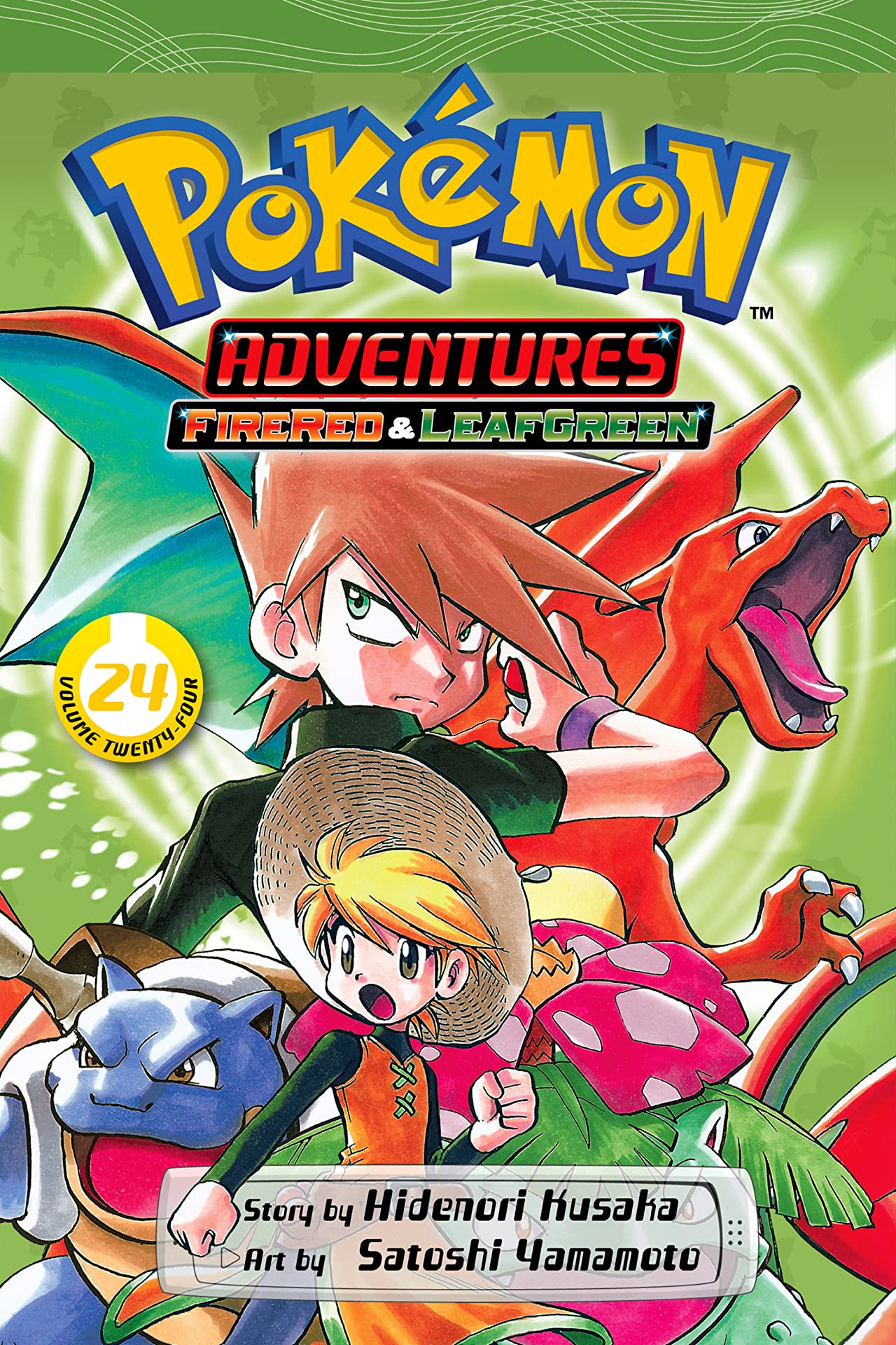 Pokémon Adventures (FireRed and LeafGreen) Vol. 24