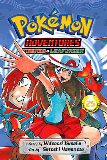 Pokémon Adventures (FireRed and LeafGreen) Vol. 25