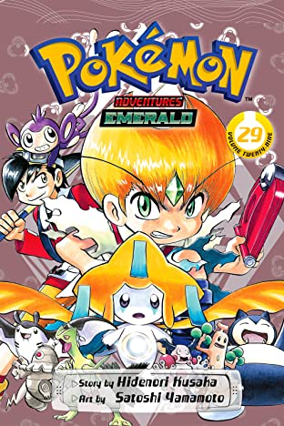 Pokémon Adventures (Emerald) Vol. 29