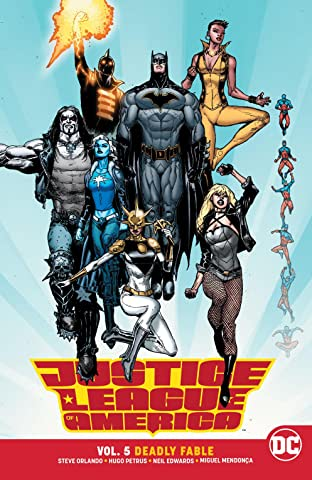 Justice League of America (2017-2018) Vol. 5: Deadly Fable