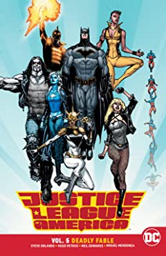 Justice League of America (2017-) Vol. 5: Deadly Fable