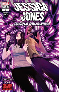 Jessica Jones: Purple Daughter - Marvel Digital Original (2019) #2 (of 3)