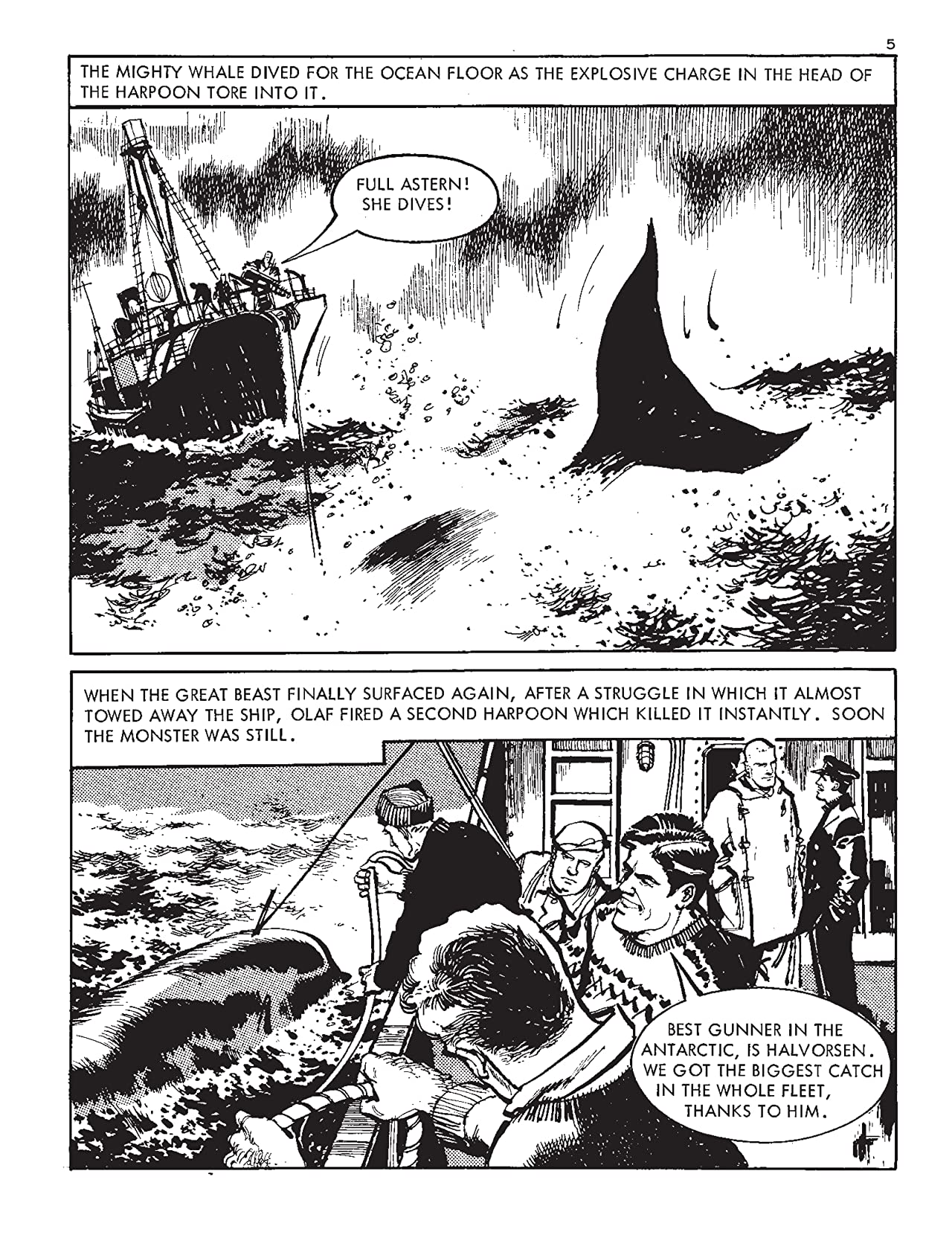 Commando #5164: Death Of A U-Boat