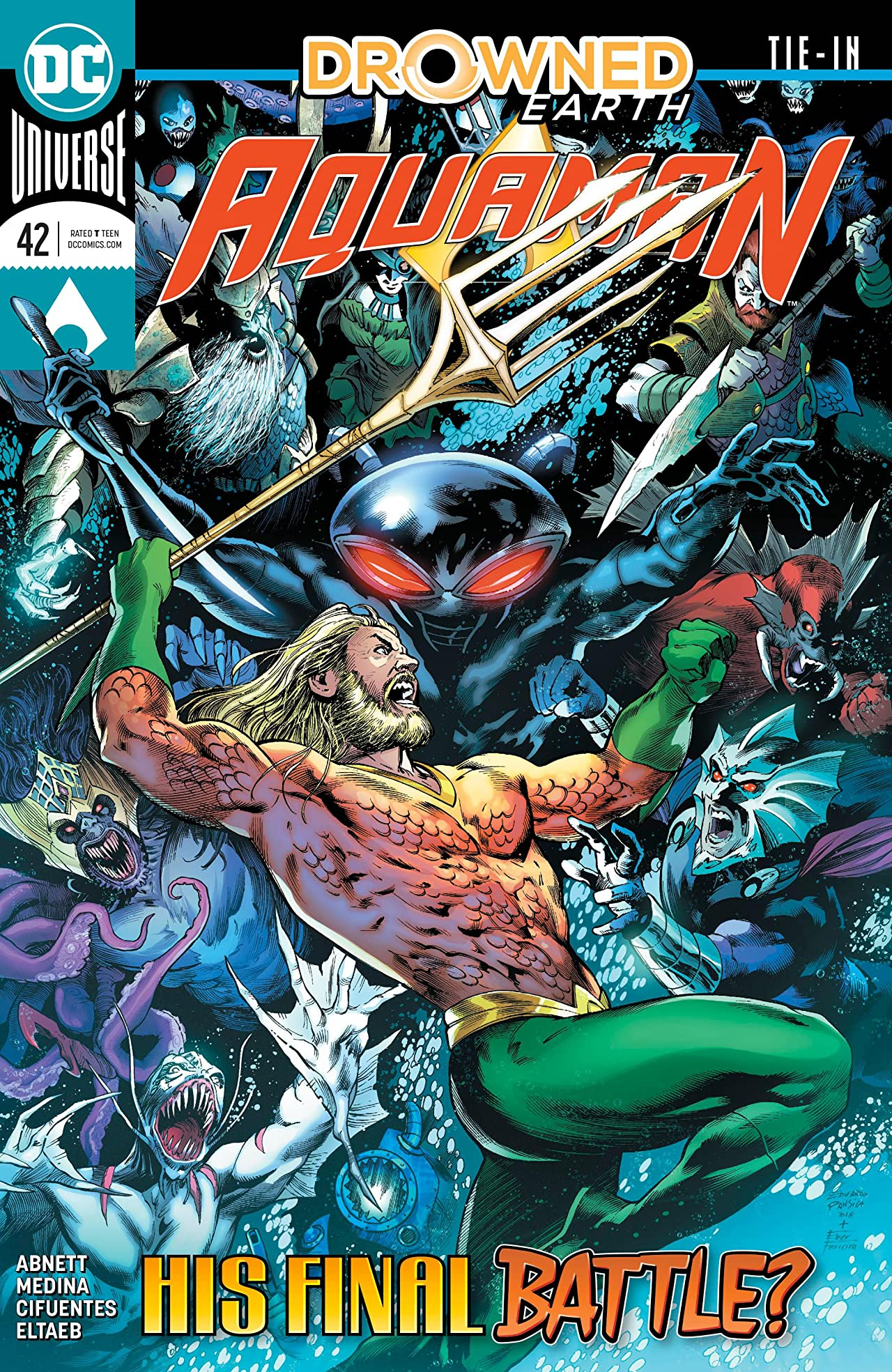 Aquaman (2016-) No.42
