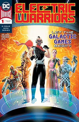 Electric Warriors (2018-) #1
