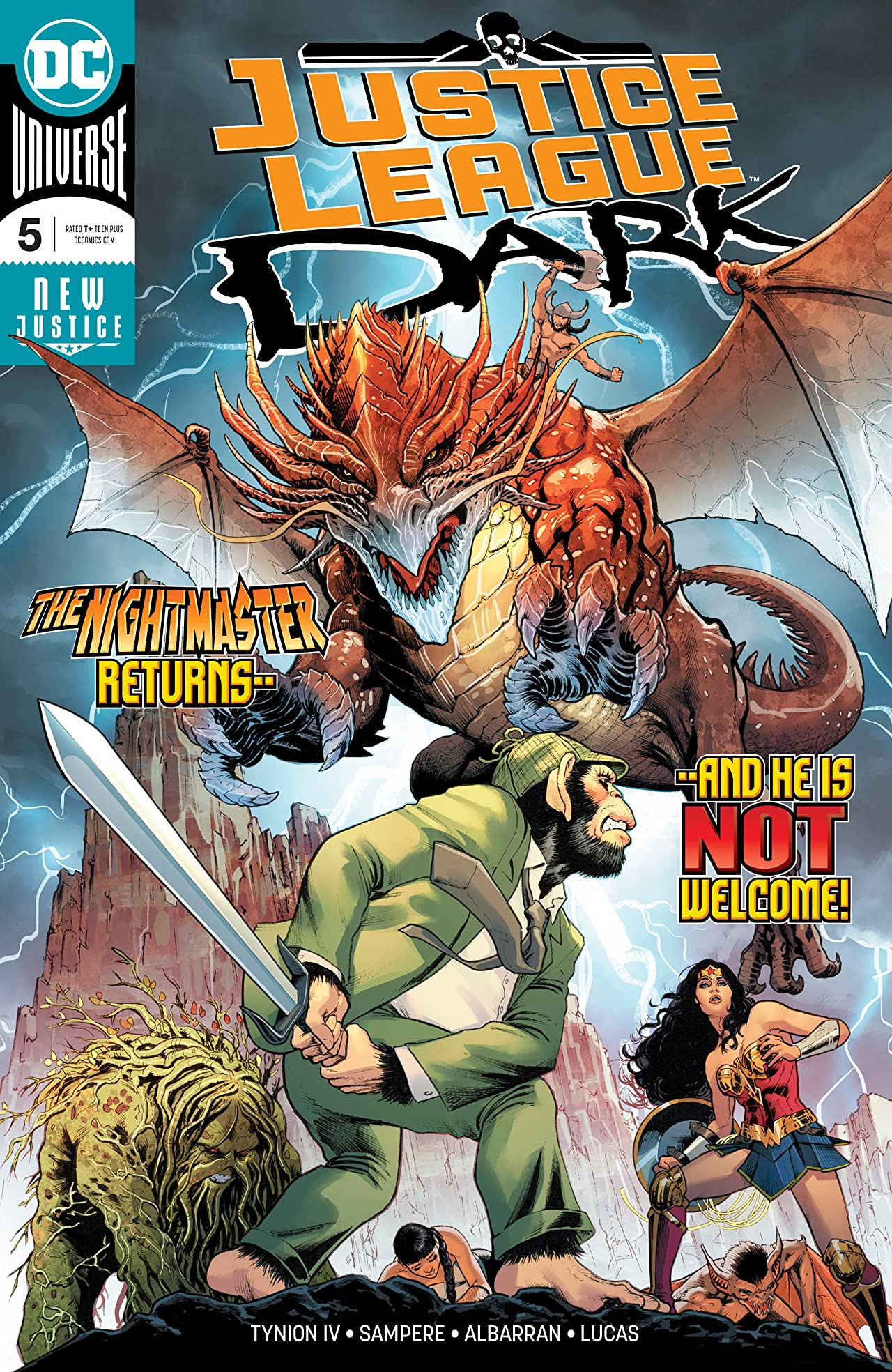 Justice League Dark (2018-) No.5