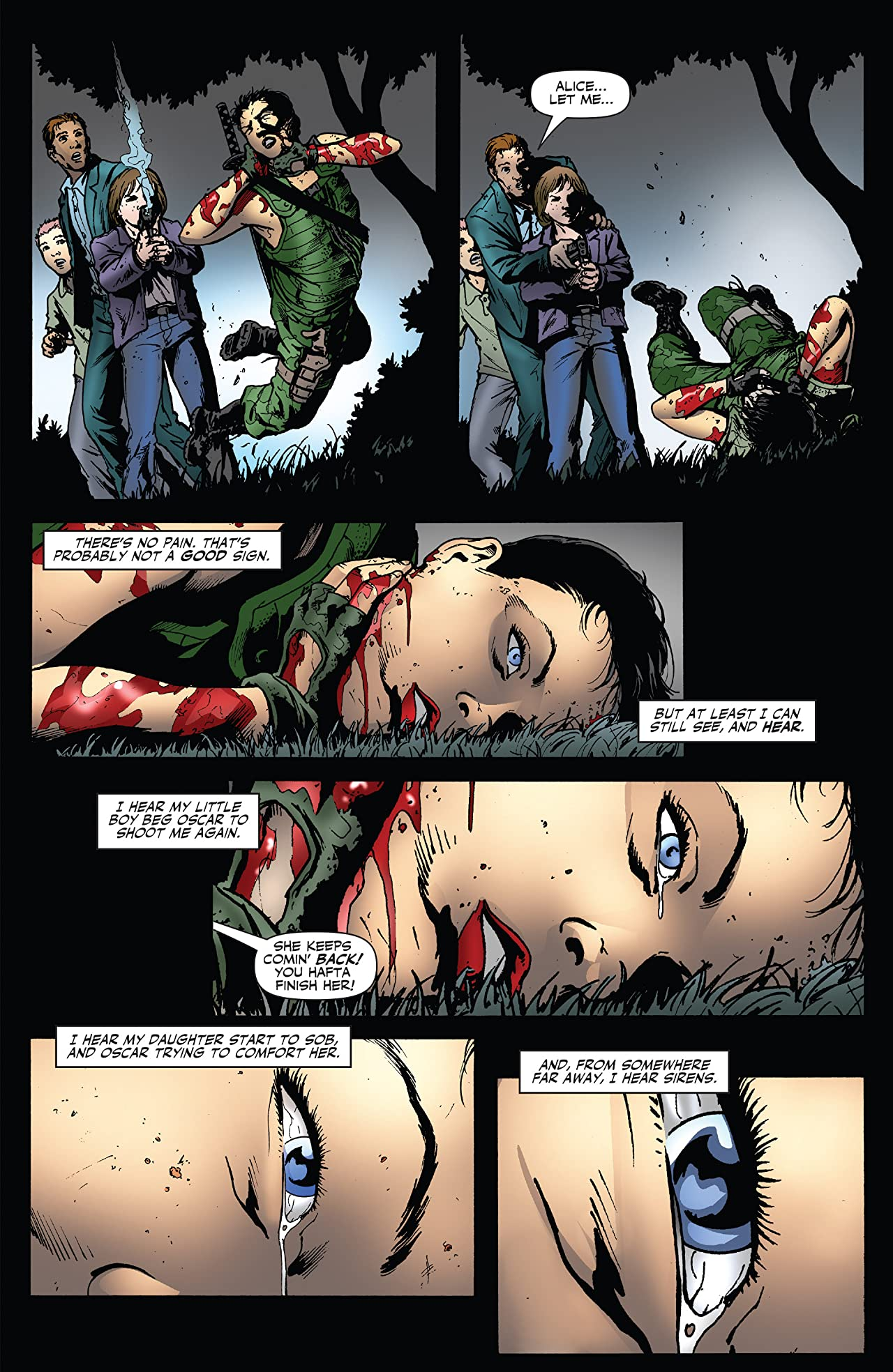 Garth Ennis' Jennifer Blood #36