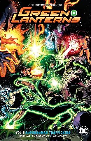 Green Lanterns (2016-) Tome 7: Superhuman Trafficking
