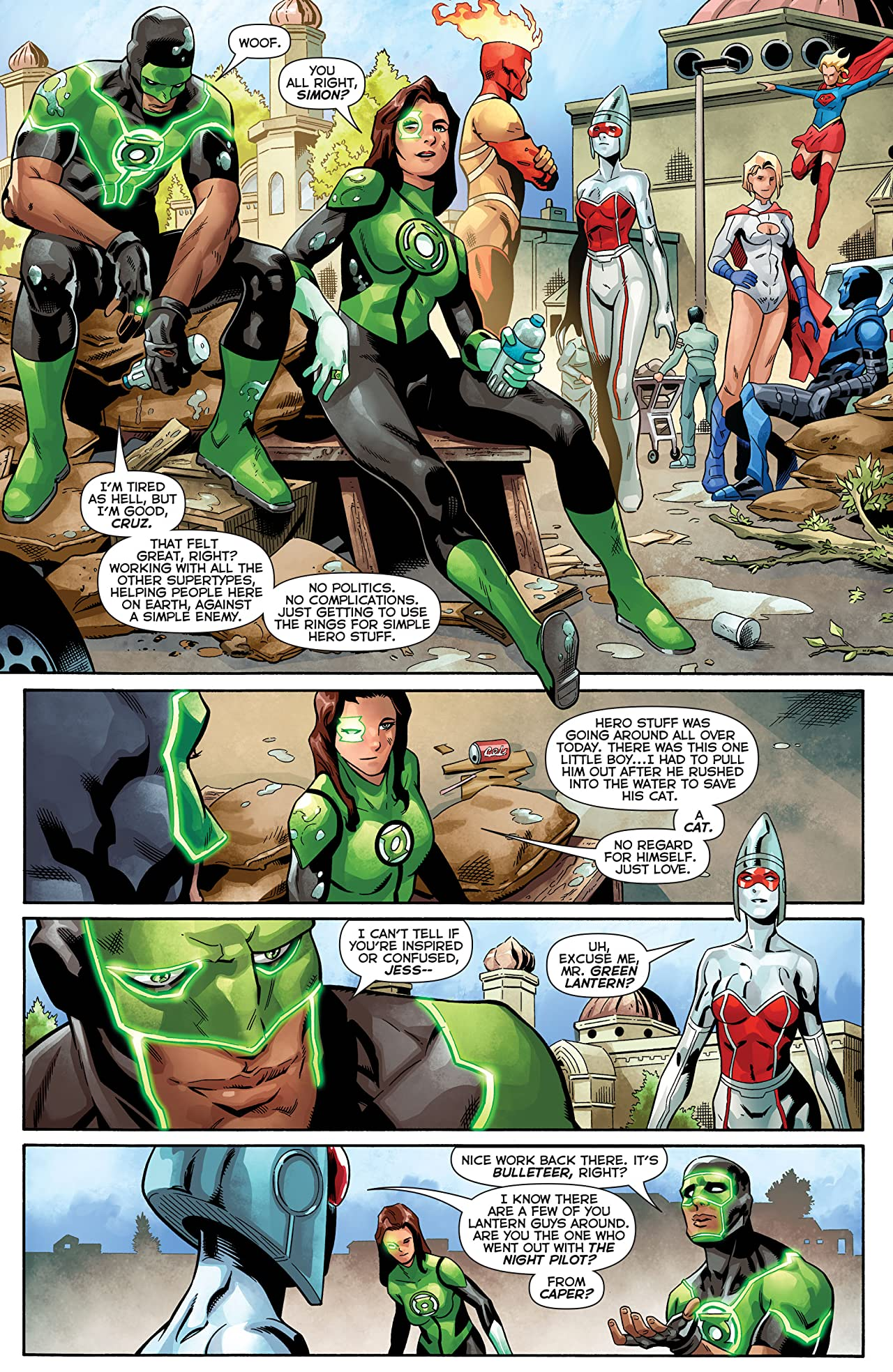 Green Lanterns (2016-) Vol. 7: Superhuman Trafficking