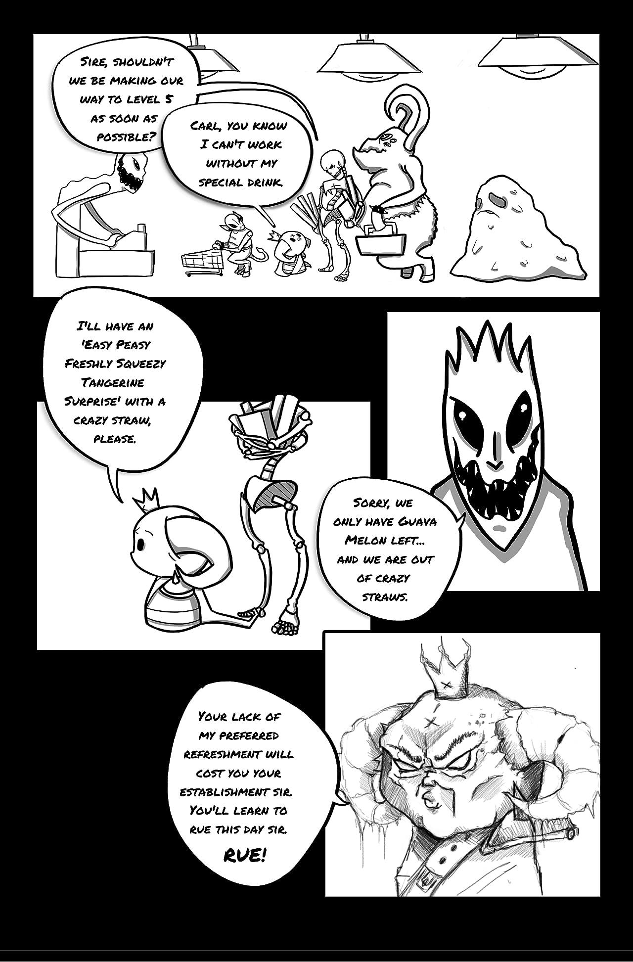Prints Of The Underworld #1