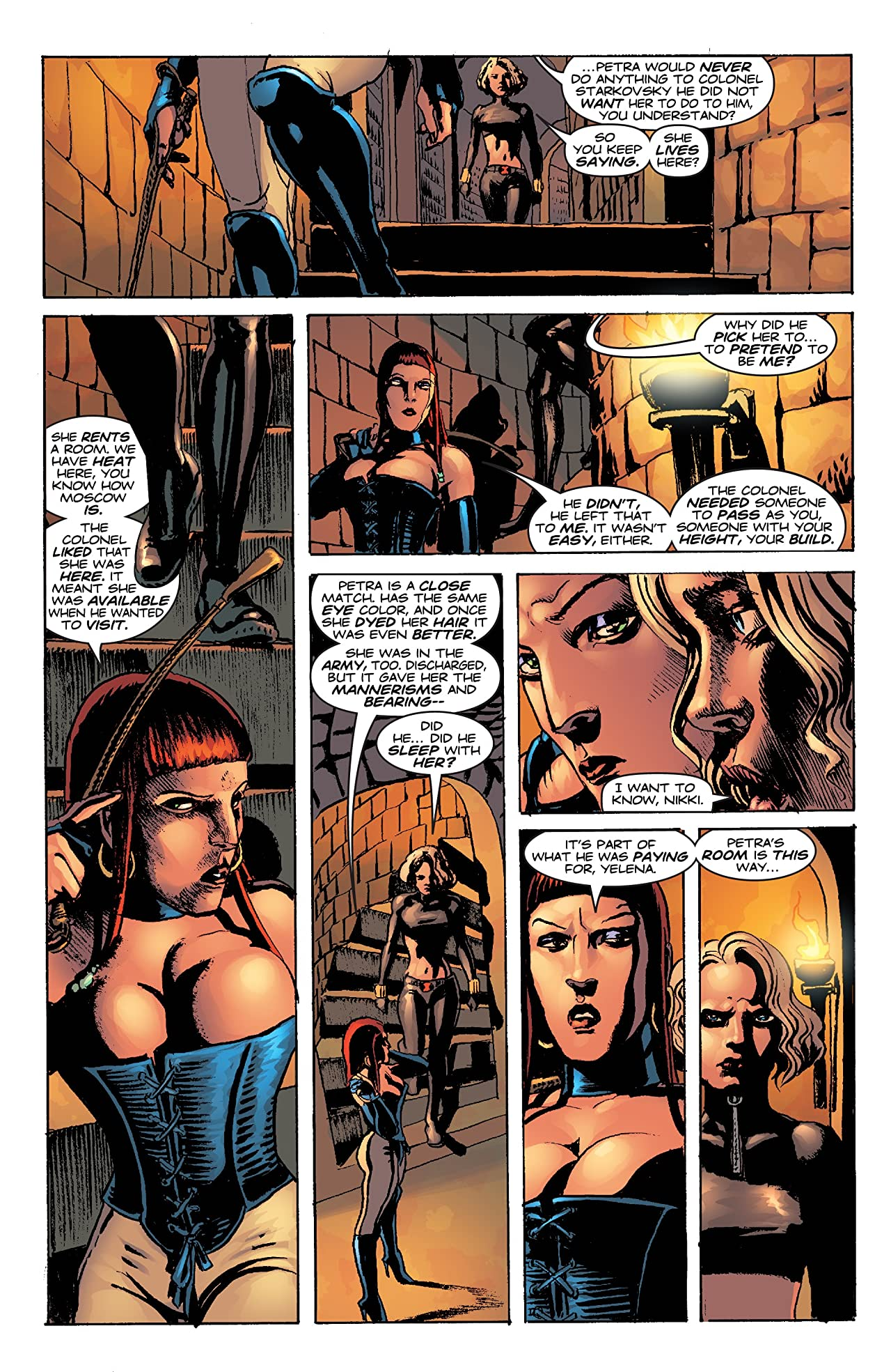 Black Widow: Pale Little Spider (2002) #3 (of 3)