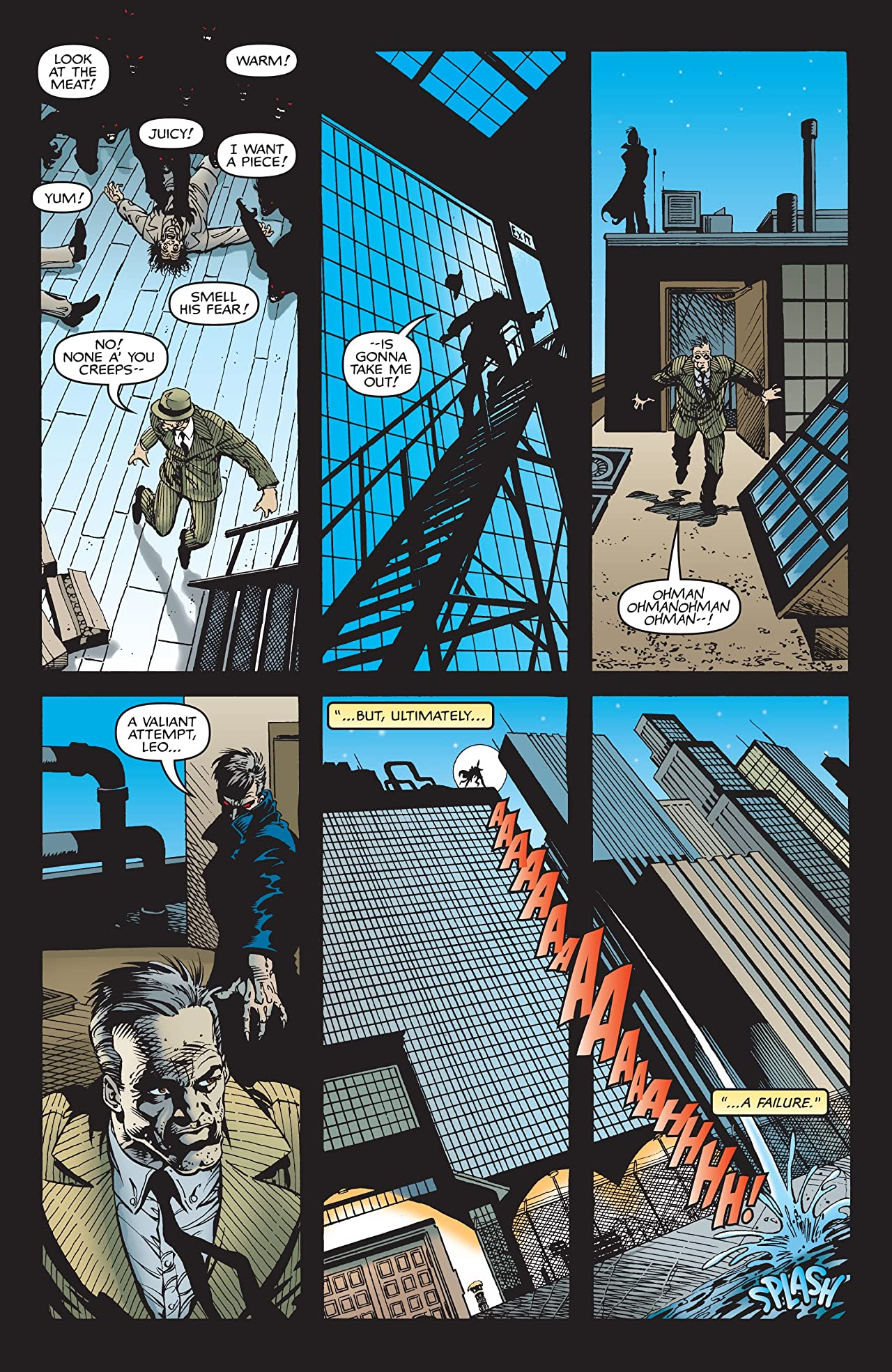 Blade: Sins Of The Father (1998) #1