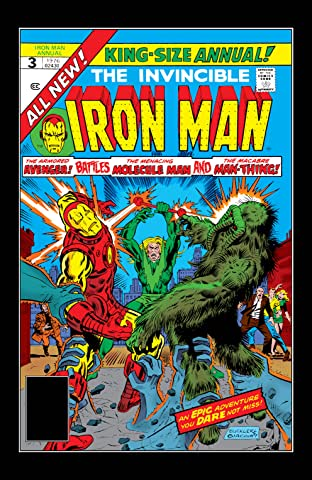 Iron Man (1968-1996) Annual #3