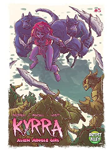 Kyrra: Alien Jungle Girl #5