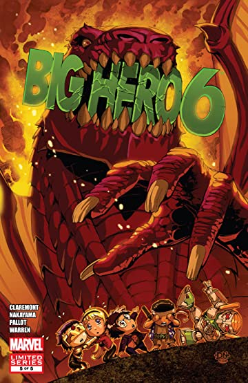 Big Hero 6 (2009) #5 (of 5)