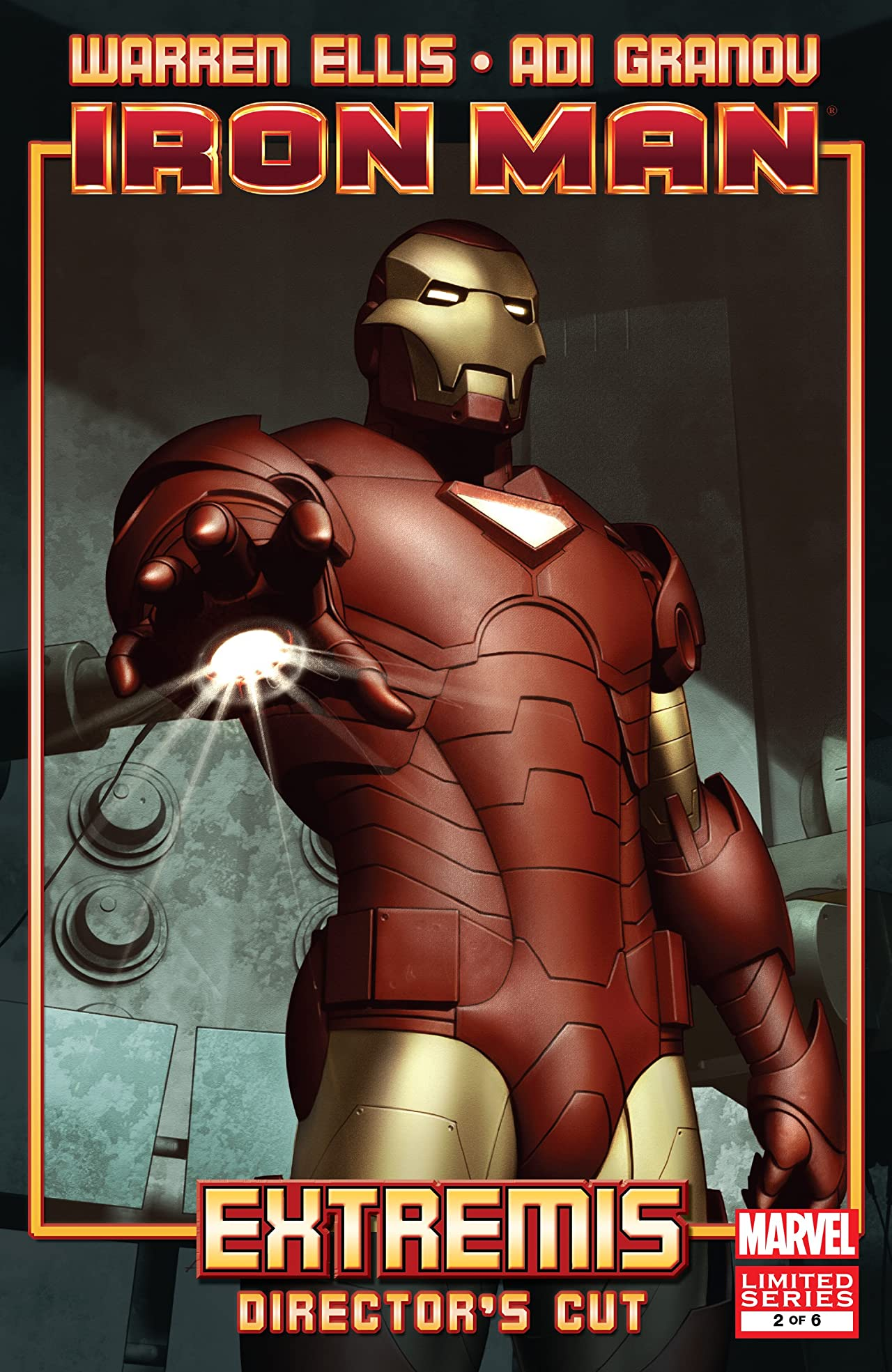 Iron Man: Extremis - Director's Cut (2010) #2 (of 6)