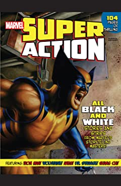 Marvel Super Action (2010) #1: (Black And White)