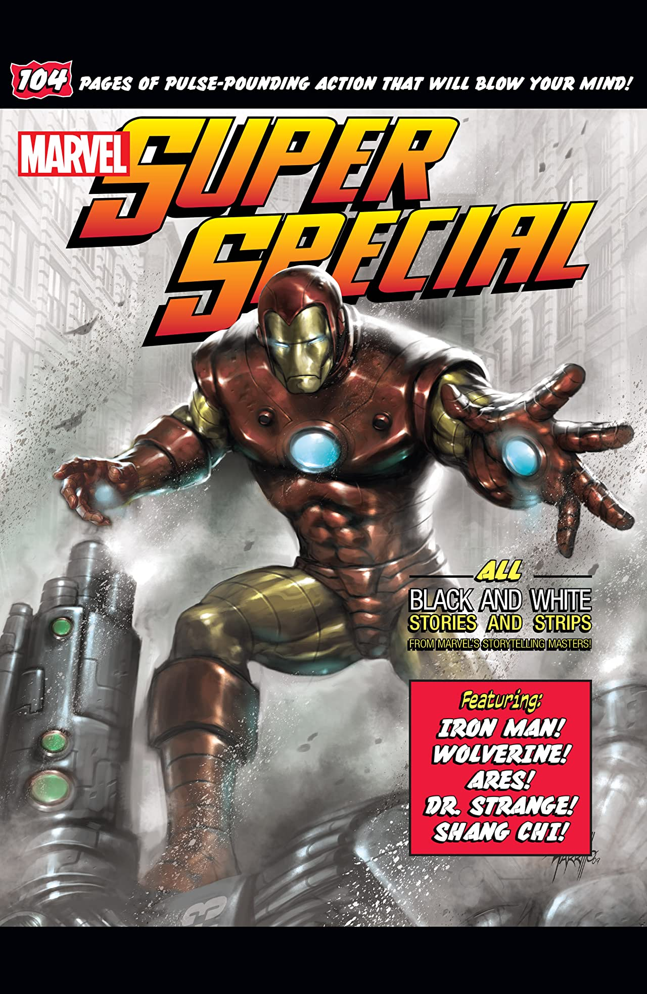 Marvel Super Special (2010) #1: (Black And White)