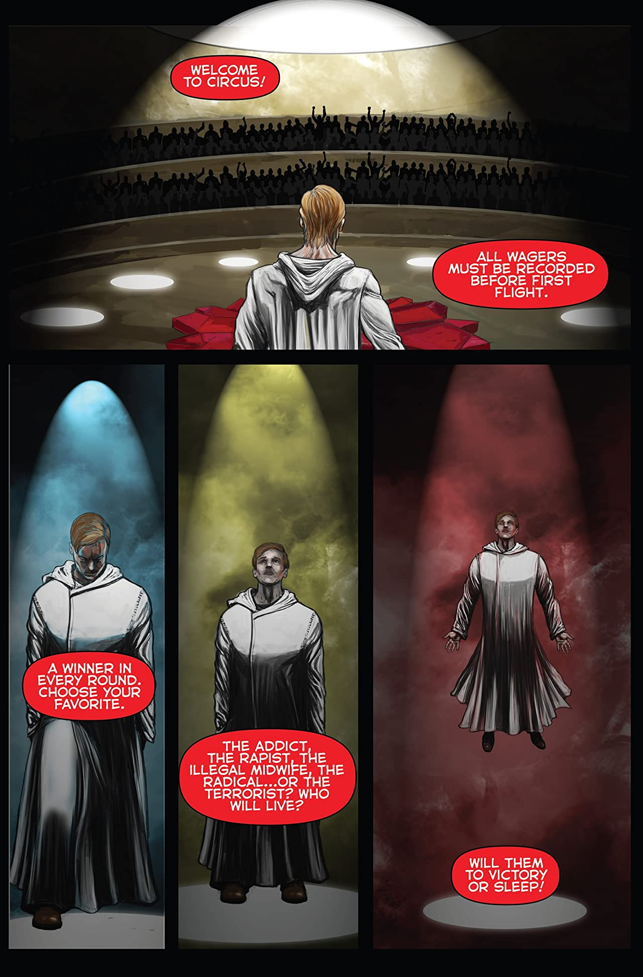 Logan's Run: Black Flower #3