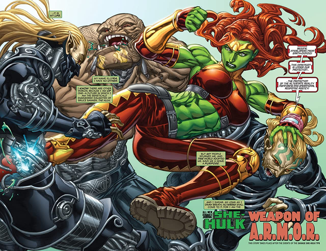 Hulk: Fall Of The Hulks - The Savage She-Hulks