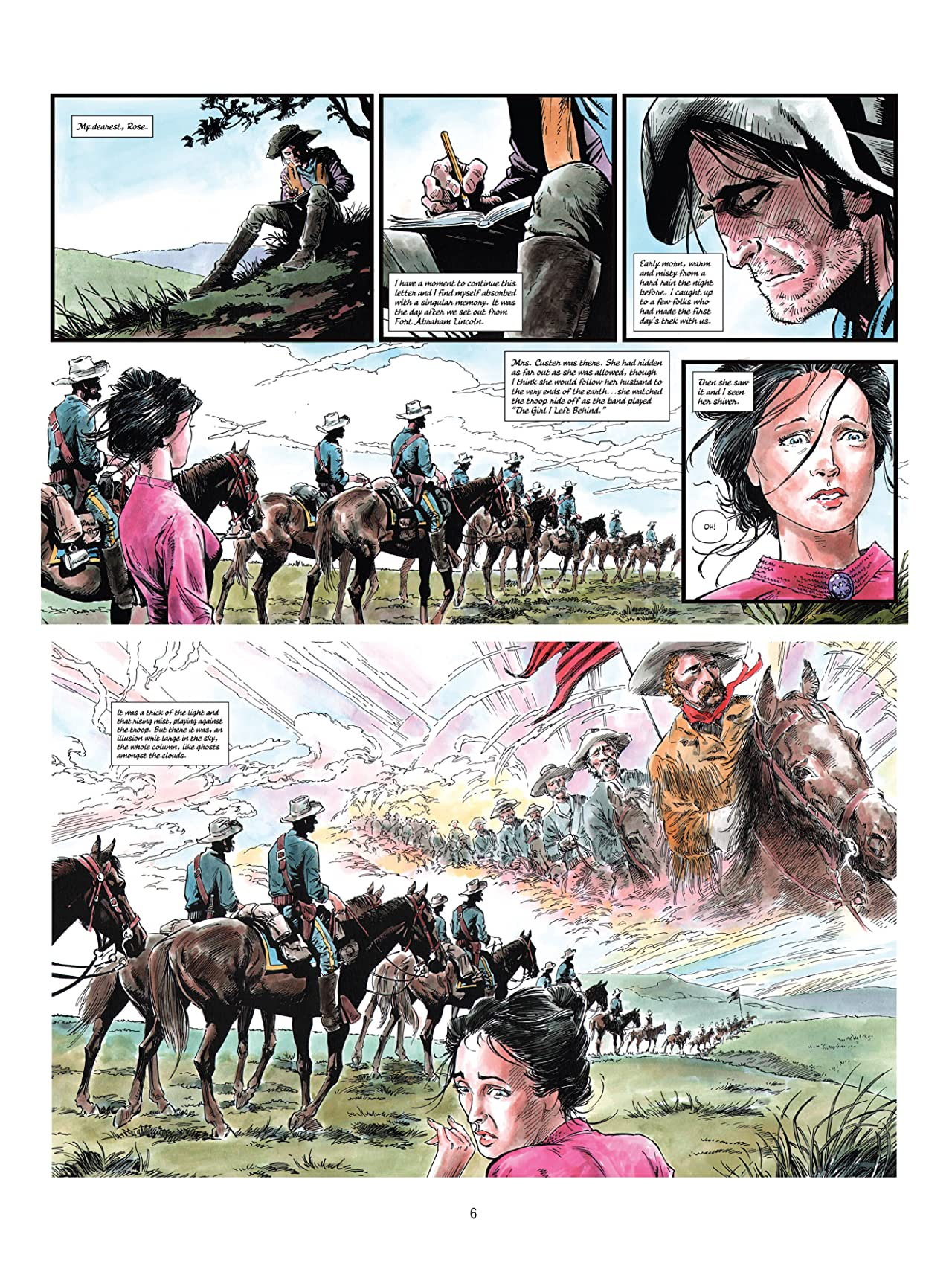 Of Dust & Blood, The Battle at Little Big Horn