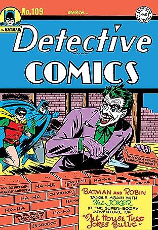 Detective Comics (1937-2011) #109