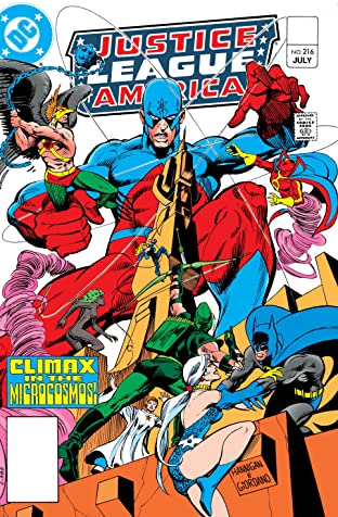 Justice League of America (1960-1987) #216