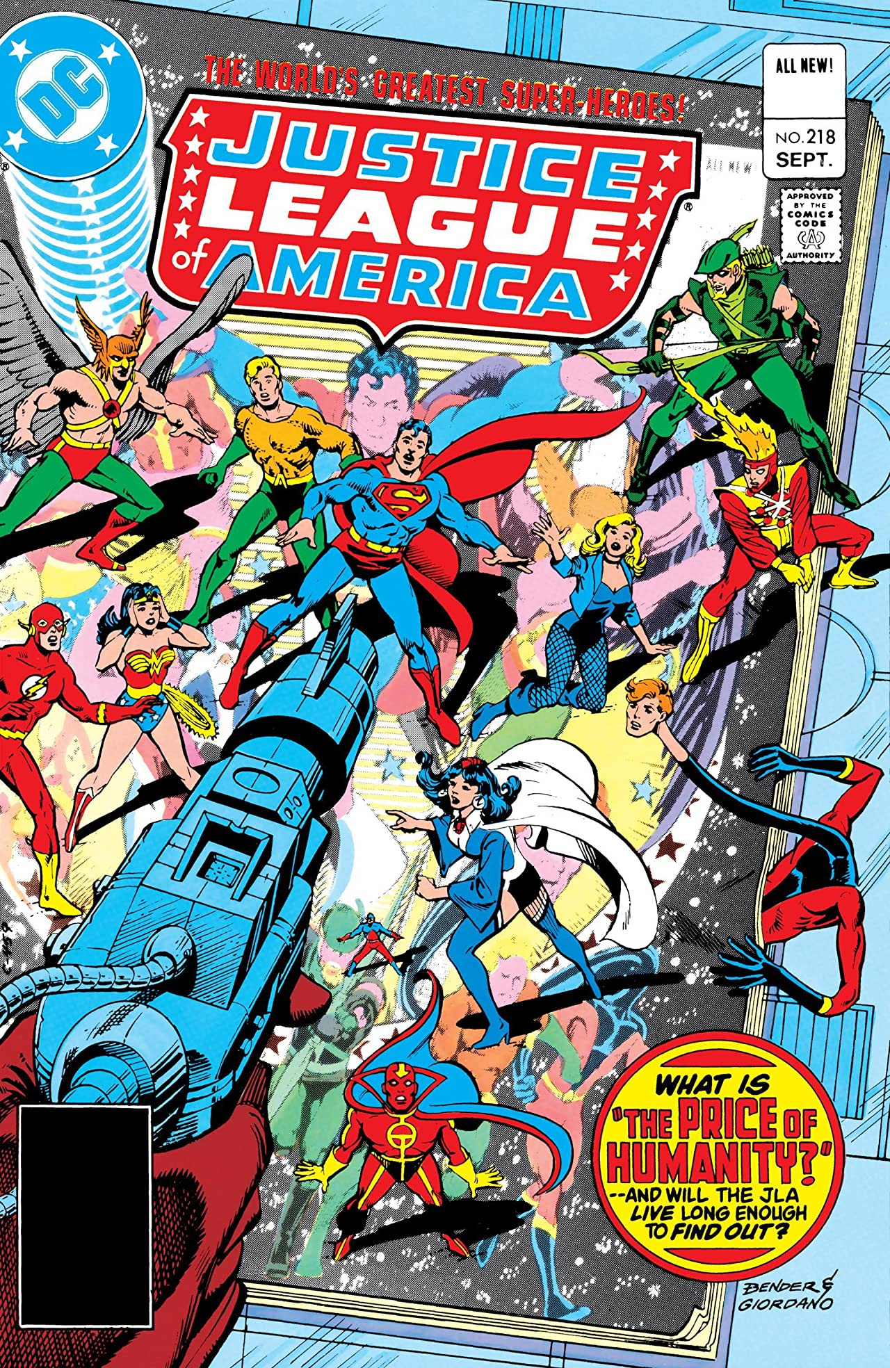 Justice League of America (1960-1987) #218