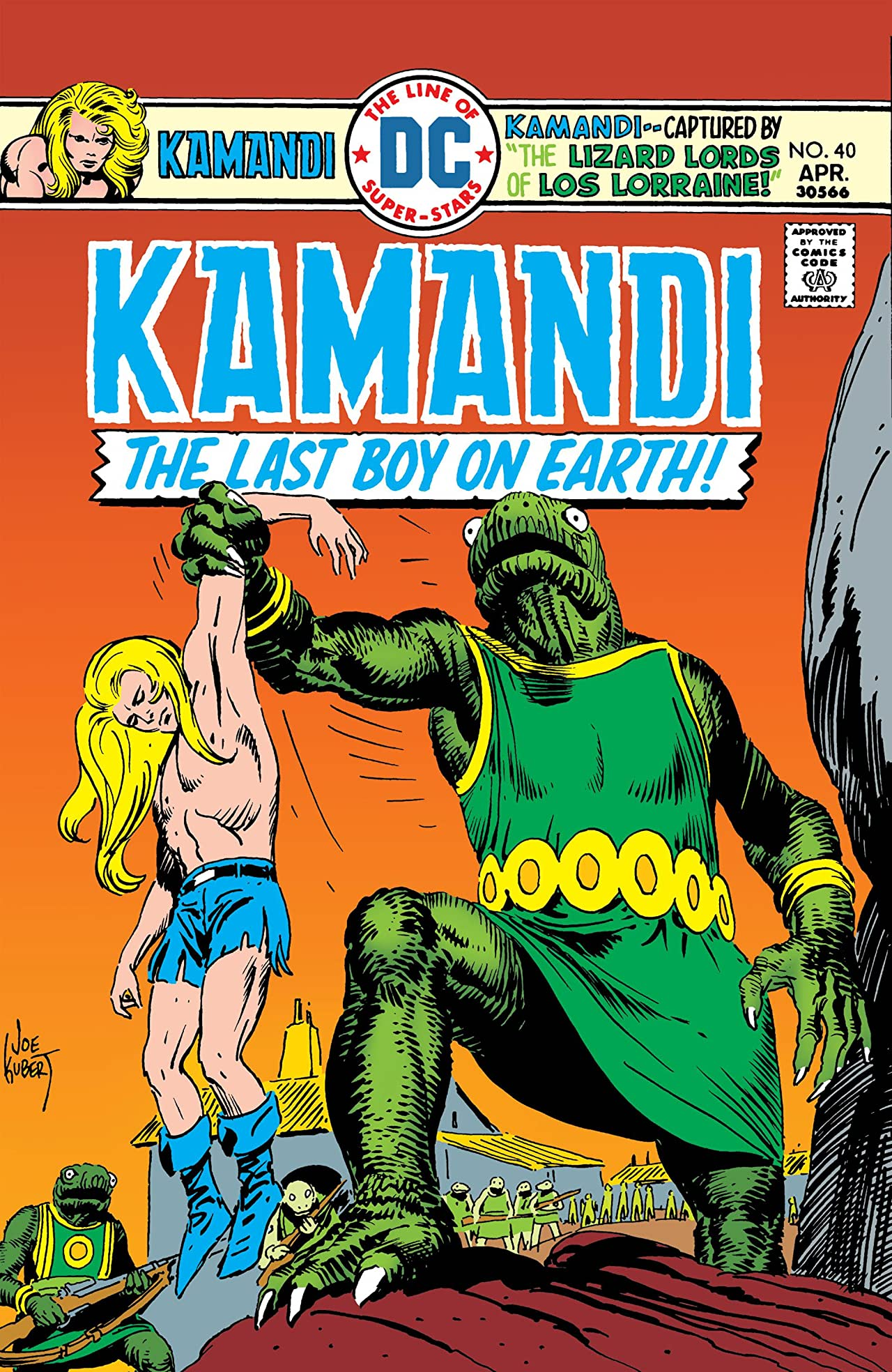 Kamandi: The Last Boy on Earth (1971-1978) #40