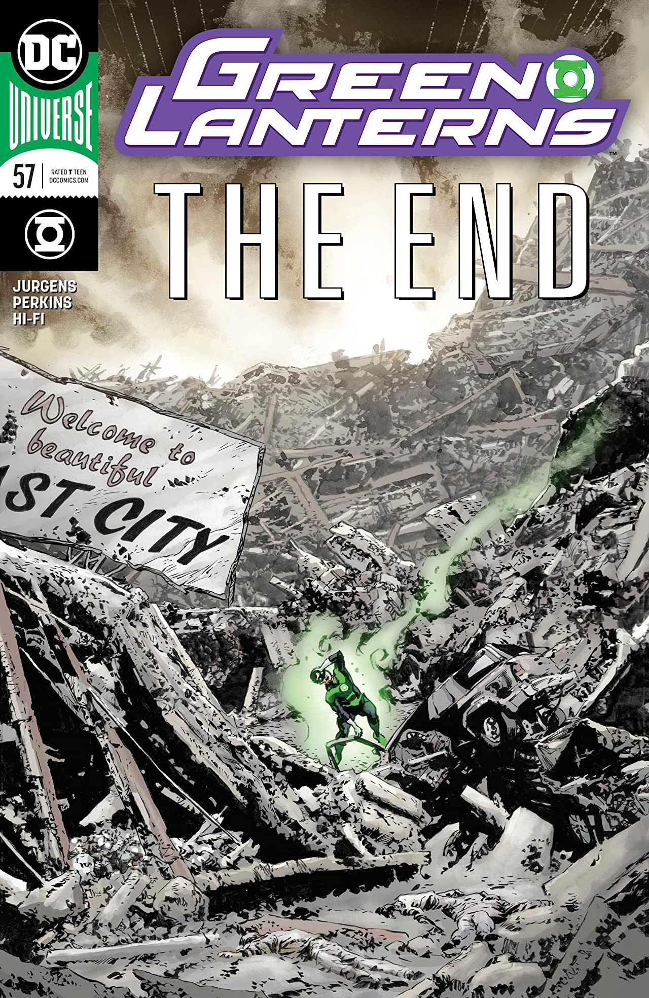 Green Lanterns (2016-) No.57
